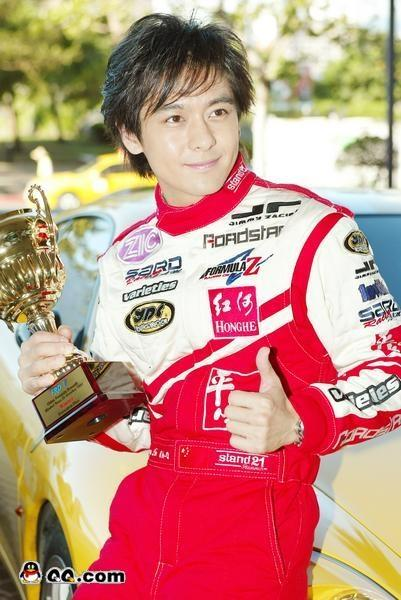 Jimmy Lin the pro racer