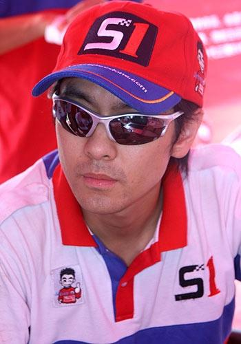 at the Chinese Rally Championship Guangzhou 2009 Jimmy Lin Chi Ying Picture